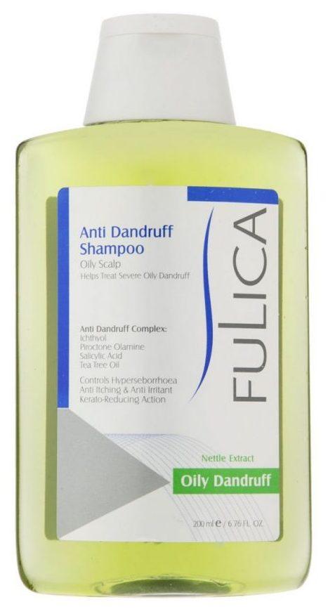شامپو ضد شوره فولیکا مخصوص موهای چرب حجم 200 میلی لیتر
