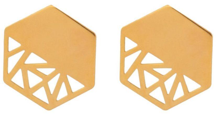گوشواره طلا ۱۸ عیار زنانه دُرج مدل DE58