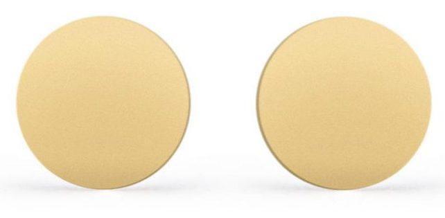 گوشواره طلا 18 عیار زنانه ریسه گالری مدل 3027