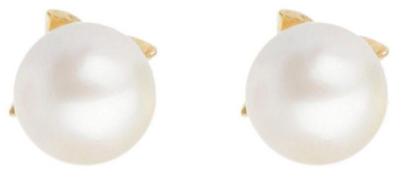 گوشواره طلا 18 عیار زنانه دُرج مدل DE78