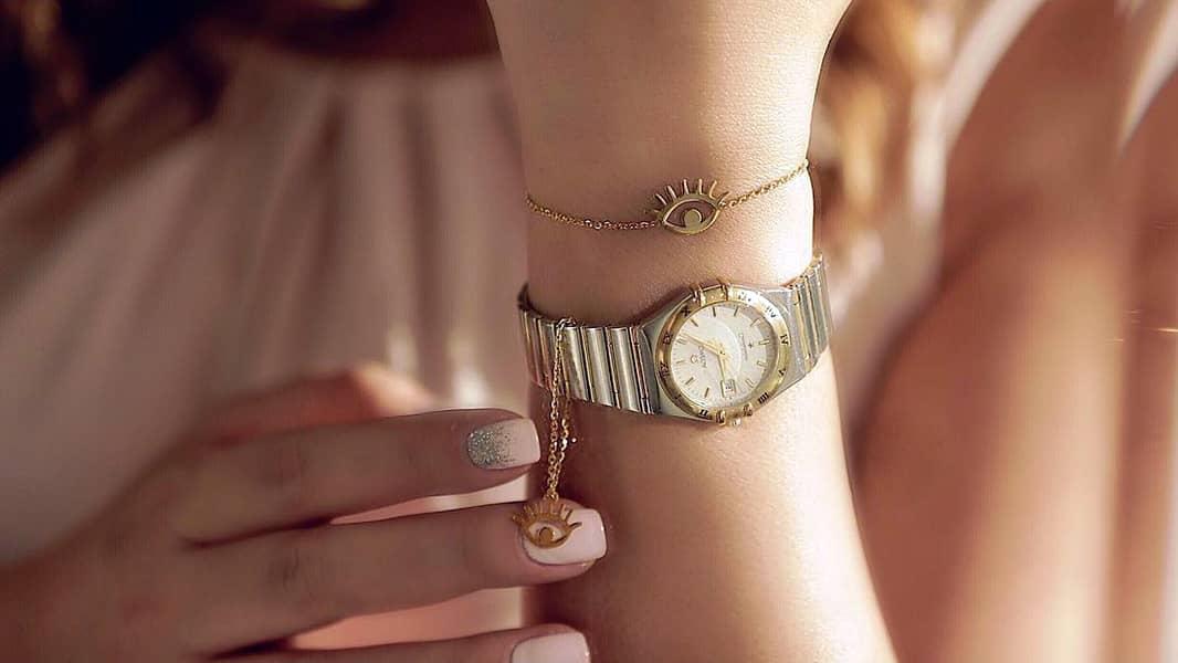 7 مدل آویز ساعت طلا برای کادو