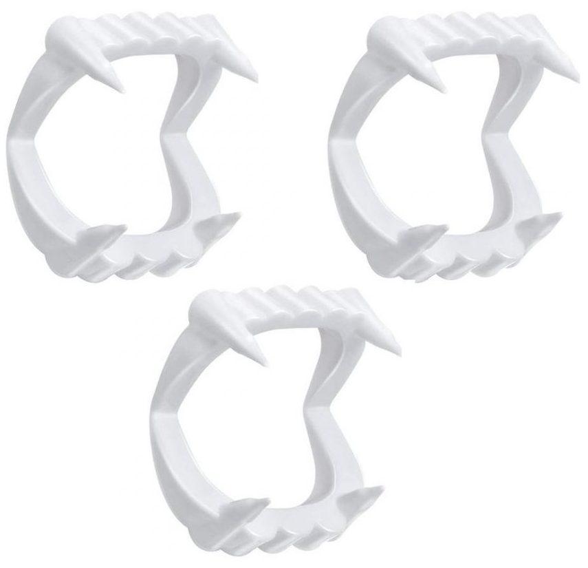ابزار شوخی مدل دندان دراکولا کد DRK 37 بسته 3 عددی