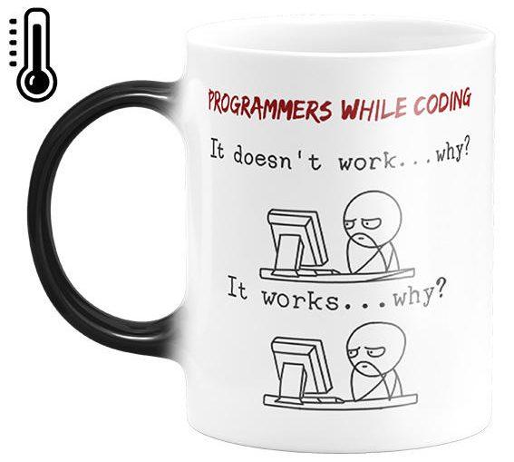 ماگ حرارتی طرح برنامه نویس