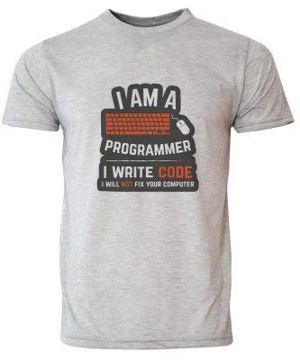 تی شرت مردانه طرح برنامه نویس کد 20142