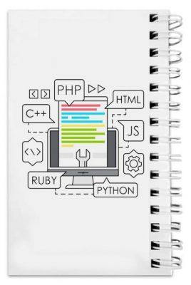 دفترچه یادداشت مدل to do list طرح برنامه نویسی پایتون کد 1155811