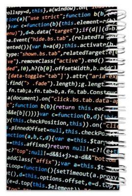 دفترچه یادداشت مدل to do list طرح کد نویسی و برنامه نویسی کد 1873452